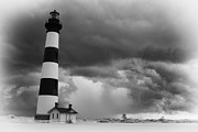 Tropical Storm Photos - Stormy Bodie in Black and White by Dan Carmichael