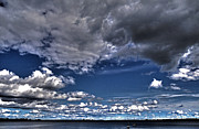 Southern Province Metal Prints - Stormy Clouds ... Metal Print by Juergen Weiss