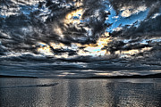 Penn Cove Wa Photos - Stormy Morning by Ron Roberts