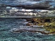 Sarita Rampersad Metal Prints - Stormy Seas Metal Print by Sarita Rampersad