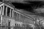 Soldier Field Prints - Stormy Soldier Print by David Bearden