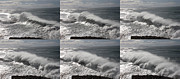Atlantic Ocean Posters - Stormy wave sequence Poster by Cedric Darrigrand