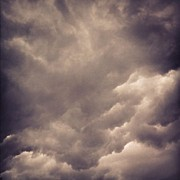 Iphone4 Posters - Stormy Weather Poster by Cameron Bentley