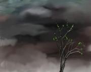 Stormy Weather Print by David Lane