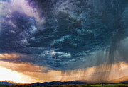 Washington Prints Prints - Stormy Weather Print by James Heckt