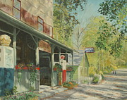 Beer Oil Paintings - Story Inn by Steve Haigh