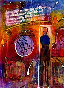 Joy Mixed Media - Story of a Woman by Angela L Walker
