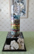 Mixed-media Glass Art - Storyteller by Tyna Silver