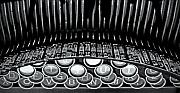 Typewriter Keys Framed Prints - Storyteller...the art and illusion Framed Print by Richard George