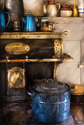 Enterprise Metal Prints - Stove - The Stove Metal Print by Mike Savad