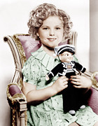 1936 Movies Prints - Stowaway, Shirley Temple, 1936 Print by Everett