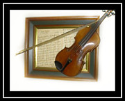 Violin Digital Art - Stradevirias by Sherri  Of Palm Springs