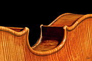 The Violin - Stradivarius Back Corner by Endre Balogh