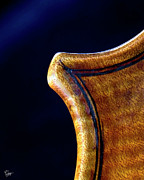 The Violin - Stradivarius Corner Closeup by Endre Balogh