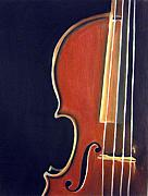 Orchestra Drawings Metal Prints - Stradivarius Metal Print by Dawnstarstudios