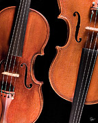 The Violin - Stradivarius Violin and Maggini Viola by Endre Balogh