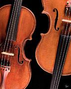 The Violin - Stradivarius Violin and Maggini Viola by Endre Balogh