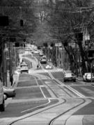 Tram Photos - Straight Lines by David Bearden