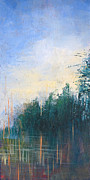 Pallet Knife Prints - Stranded Print by Melissa Peterson