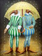 Infantile Paintings - Strange Rain by Lolita Bronzini