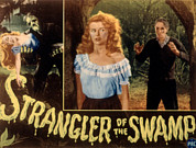 Lobbycard Framed Prints - Strangler Of The Swamp, Rosemary La Framed Print by Everett