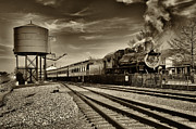 Strasburg Framed Prints - Strasburg Railroad 1 Framed Print by Jack Paolini