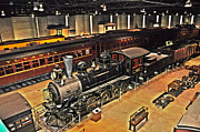 Strasburg Prints - Strasburg Railroad Museum Print by Bill Cannon