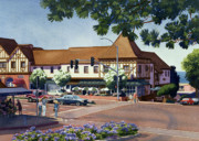 Stratford Paintings - Stratford Square Del Mar by Mary Helmreich