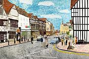 Stratford Paintings - Stratford Upon Avon England by Avi Lehrer