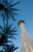 Stratosphere Prints - Stratosphere Tower Print by Andy Smy