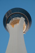 Stratosphere Tower Up Close Print by Andy Smy