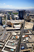City Streets Photo Originals - Stratosphere View 2 by Jessica Velasco