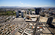 City Streets Photo Originals - Stratosphere View 3 by Jessica Velasco