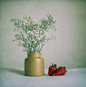 Photography Art - Strawberries by Kristin Kreet