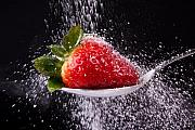 Dine Prints - Strawberry Print by Manfred Lutzius