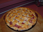 Just Stuff Nfs - Strawberry Rhubarb Pie by Pauline Ross