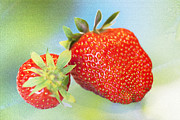 Goods Prints - Strawberry Still Life Print by Heiko Koehrer-Wagner