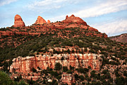 Red Rocks Framed Prints - Streaks in Sedona Framed Print by John Rizzuto