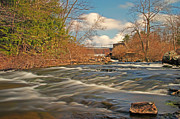 Naomi Framed Prints - Stream at Lake Naomi PA 1 Framed Print by Jack Paolini