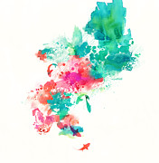 Stream Digital Art Prints - Stream Print by Budi Satria Kwan