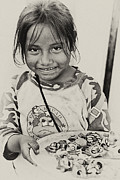 Poor Countries Metal Prints - Street Child  Metal Print by Carolyn Marchetti