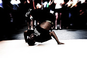 Break Dance Prints - Street Dancer Print by Pablo Trumpf