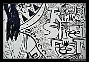Street Fest Print by Sarita Rampersad