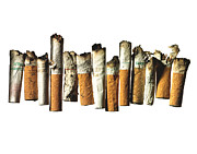 Smoking Cigarette Prints - Street Finds 1 Print by Michael Kraus