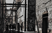 Alleyway Prints - Street Games Print by Jerry Cordeiro
