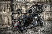 Harley Davidson Photo Originals - Street Glide Crated 2 by Bennie McLendon