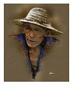 Street Pastels - Street Hawker by James Robinson