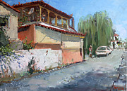 Ylli Haruni - Street in a Greek Village