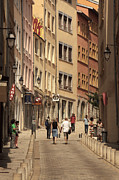 Lyon Prints - street in Lyon  Print by Igor Kislev