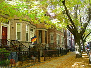 Bklyn Prints - Street in Windsor Terrace Print by Mark Gilman